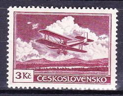 * Tchécoslovaquie 1930 Mi 306 (Yv PA 13), (MH) Type II, Trace De Charniere - Czechoslovakia