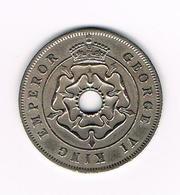 // SOUTHERN  RHODESIA  1 CENT  1937 GEORGE VI - Zimbabwe