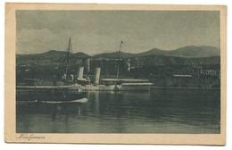 KRALJEVICA - CROATIA Quarnero Adria, Steamer Dampfer, Year 1923 - Croatie