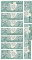 BURUNDI 10 FRANCS 2007 UNC P 33 E ( 10 Billets ) - Burundi