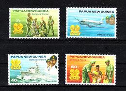 Papua  N. Guinea  - 1981. Difesa Militare,Marina,Aeronautica,Ospedale.Military Defense,Navy,Aeronautics,field Hospital - Militaria
