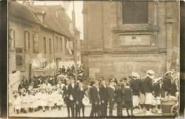 78 - MONTFORT L'AMAURY - Carte Photo De La Dernière Procession De La Fête Dieu En 1912 - TOP Animée - Montfort L'Amaury
