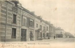 78 - SARTROUVILLE - Rue De St Germain En 1904 - Commerce De Journaux - Sartrouville