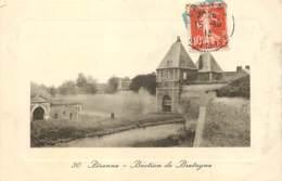 80 - PERONNE - Bastion De Bretagne En 1913 (voir Dessin Et Commentaire Au Dos) - Peronne