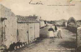 85 - Env Des SABLES - Commune De CHANTELOUP - Rare - Francia