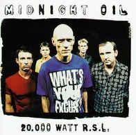 Midnight Oil- 20 000 Watt RSL /collection - Cassettes Audio
