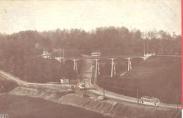 BERG En DAL  Trambrug Van Den Musschenberg Gezien  Mit Tram  Um 1910  Mooi Nederland Villapark - Tramways