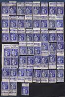 PUBLICITE: LOT DE 51 TIMBRES PUBS PAIX 65C OBLITERES BYRRH +25 DIVERS +7 PAIX 90C COTE 203E + 70E - Advertising