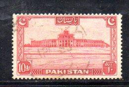 APR1726 - PAKISTAN 1948 , Indipendenza : Yvert N. 36  Usato  (2380A) - Pakistan