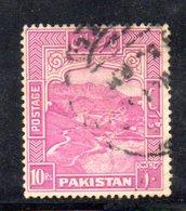 APR1727 - PAKISTAN 1948 , Indipendenza : Yvert N. 41  Usato  (2380A) - Pakistan