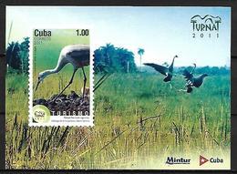 CUBA - MNH - 2011 -       Sandhill Crane    Antigone Canadensis - Grues Et Gruiformes