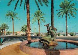 LIBYA - Tripoli - Gazella Fountain - Libya