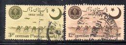 APR1732 - PAKISTAN 1952 ,  Yvert N. 63/64  Usata  (2380A) - Pakistan