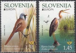 Europa 2019 / Slovenia / Set 2 Val. - 2019