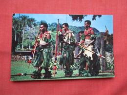 Fijian Spear Dance    Has Stamps & Cancel Ref  3482 - Fiji