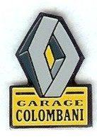 @@ Automobile Logo Garage Renault COLOMBANI Ollioules Var (2.2x1.5)  @@aut57 - Renault