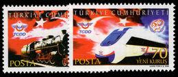 Turkey 2006 Railways Unmounted Mint. - 1921-... Republic