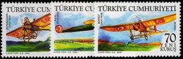 Turkey 2006 Early Turkish Aircraft Unmounted Mint. - 1921-... Republic