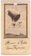 CELLULOÏD MINCE SOUVENIR LOURDES JUBILE 1935 IMAGE PIEUSE RELIGIEUSE  HOLY CARD SANTINI HEILIG PRENTJE - Andachtsbilder