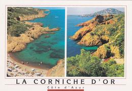 C.P. Alpes Maritimes - Corniche D' Or - F. Carlicchi - MAR. - France