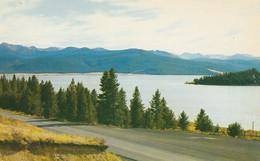 Georgetown Lake, Montana One Of The Many Beauty Spots In The Region West Of Anaconda, Montana - Anaconda
