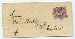 Altdeutschland Hannover Brief Celle Gartow - Hanovre