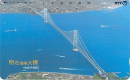 PONT - BIDGE - Télécarte Japon - Landschappen