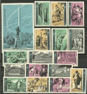 RUSSIA 1964 Matchbox Labels - Russian Scientist Tsiolkovsky (catalog# 120) - Matchbox Labels
