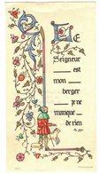CELLULOÏD MINCE PENNAUTIER AUDE SOUVENIR CAVAILHES Jacqueline  IMAGE PIEUSE RELIGIEUSE  HOLY CARD SANTINI HEILIG PRENTJE - Imágenes Religiosas