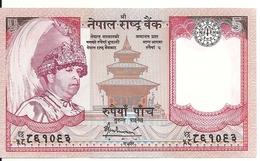 NEPAL 5 RUPEES ND2005 UNC P 53 - Népal