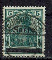Saargebiet 1920 // Mi. 4 O - 1920-35 Società Delle Nazioni