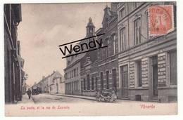 Vilvorde (la Poste Et La Rue De Louvain) - Vilvoorde