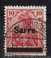 Saargebiet 1920 // Mi. 6 O - 1920-35 Società Delle Nazioni