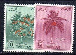 APR1742 - PAKISTAN 1957 ,  Yvert N. 89/89A  ***  MNH  (2380A)  Islam - Pakistan