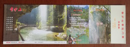 Mountain Waterfall,China 2008 Fenghuang Mt.xianglushan Landscape Advertising Pre-stamped Card - Holidays & Tourism