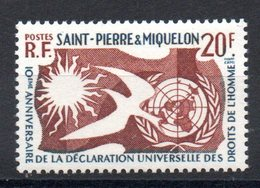 S.P.M. - YT N° 358  - Neuf ** - MNH - Cote: 4,00 € - St.Pierre & Miquelon