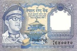 NEPAL 1 RUPEE ND1974 UNC P 22 - Népal