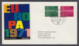Europa CEPT - FDC 1971 - BRD Germany - MiNr. 675-676 (A) - Europa-CEPT