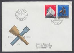 Europa CEPT - FDC 1974 - Schweiz Switzerland - MiNr. 1029-1030 (A) - Europa-CEPT