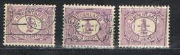 Niederlande 49 Gestempelt, Vorausentwertung - Drukwerkrolstempel - 1891-1948 (Wilhelmine)
