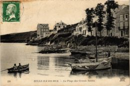 CPA BELLE-ILE-EN-MER La Plage Des Grands Sables (864899) - Belle Ile En Mer