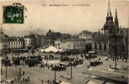 CPA ROUBAIX La Grande Place (864966) - Roubaix