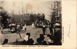 CPA ROUBAIX Cavalcade 1903 Char Des Colonies (864969) - Roubaix