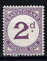 Basutoland, 1937, Postage Due, D2, Mint Hinged - Basutoland (1933-1966)