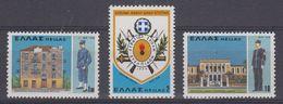 Greece 1978 Cadet Officers Military School 3v ** Mnh (43482) - Griekenland