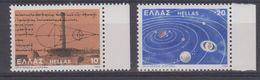 Greece 1980 Planetary System 2v ** Mnh (43483) - Griekenland
