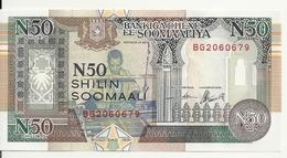 SOMALIE 50 SHILLINGS 1991 UNC P R2 - Somalia