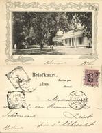 Indonesia, JAVA YOGYAKARTA DJOKJA, Residentielaan (1904) Postcard - Indonesië