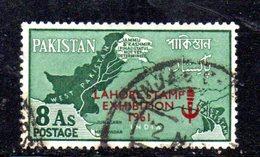 APR1754 - PAKISTAN 1961 , Serie Yvert N. 123 Usata  (2380A) Lahore - Pakistan