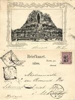 Indonesia, JAVA YOGYAKARTA DJOKJA, Prambanan Hindu Temple (1904) Postcard - Indonesië
